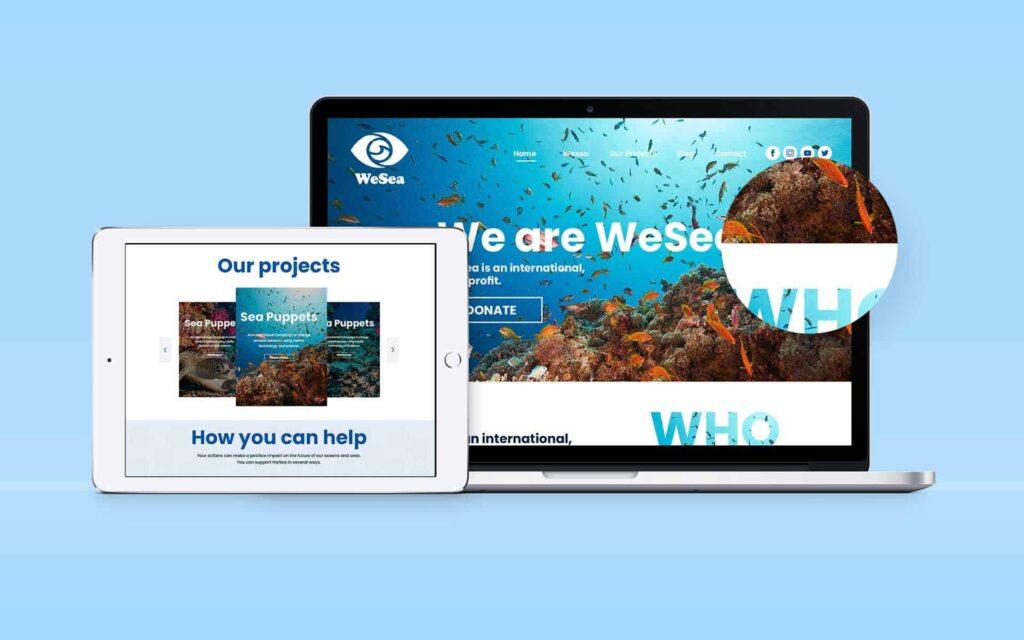 webdesign wesea