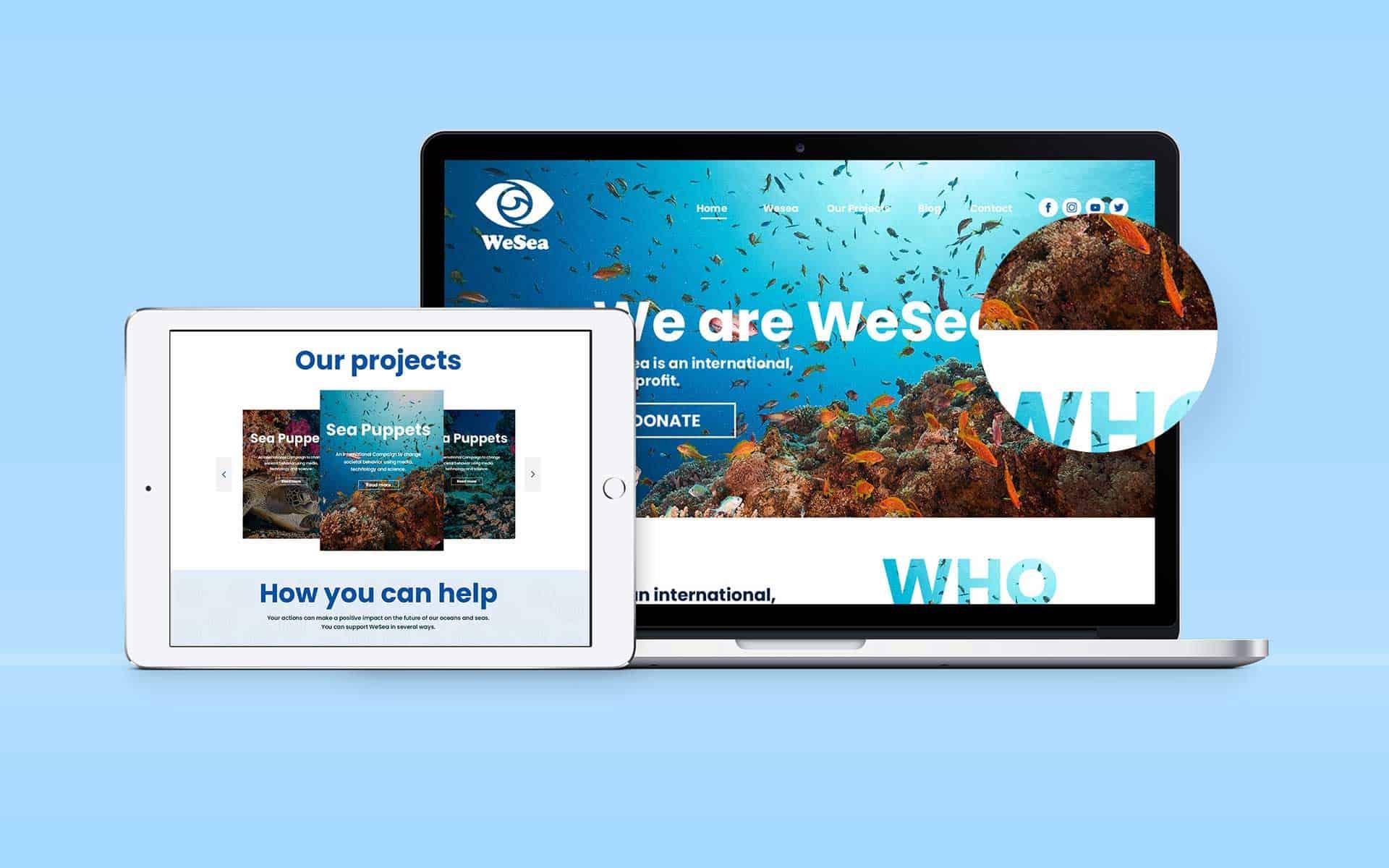 Webdesign – WeSea