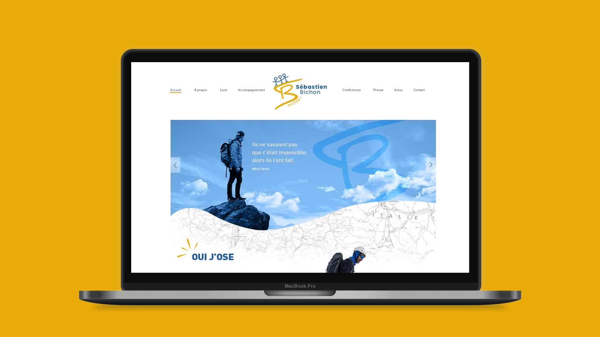Webdesign – Sébastien Bichon