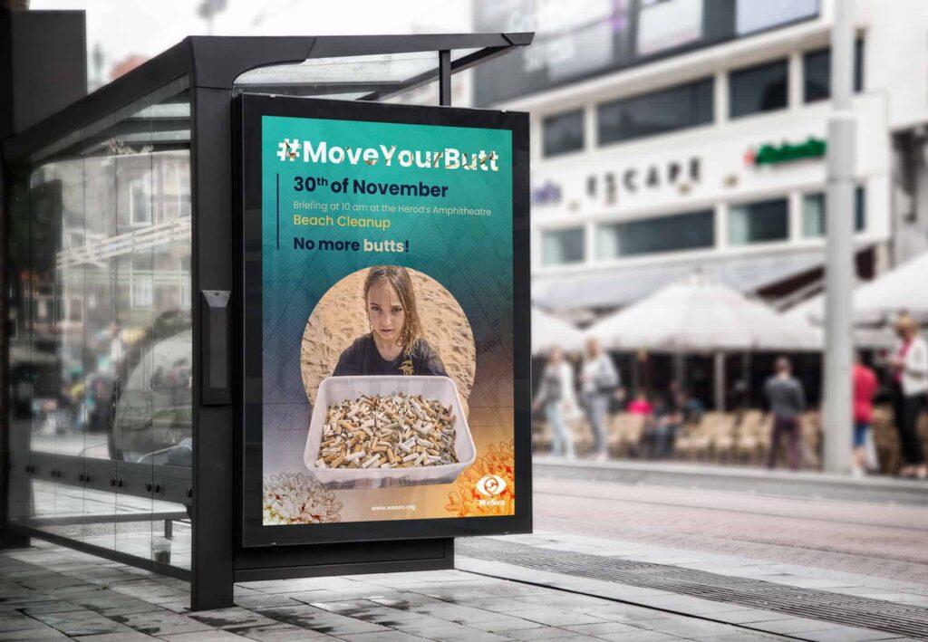 affiche campagne publicitaire Wesea