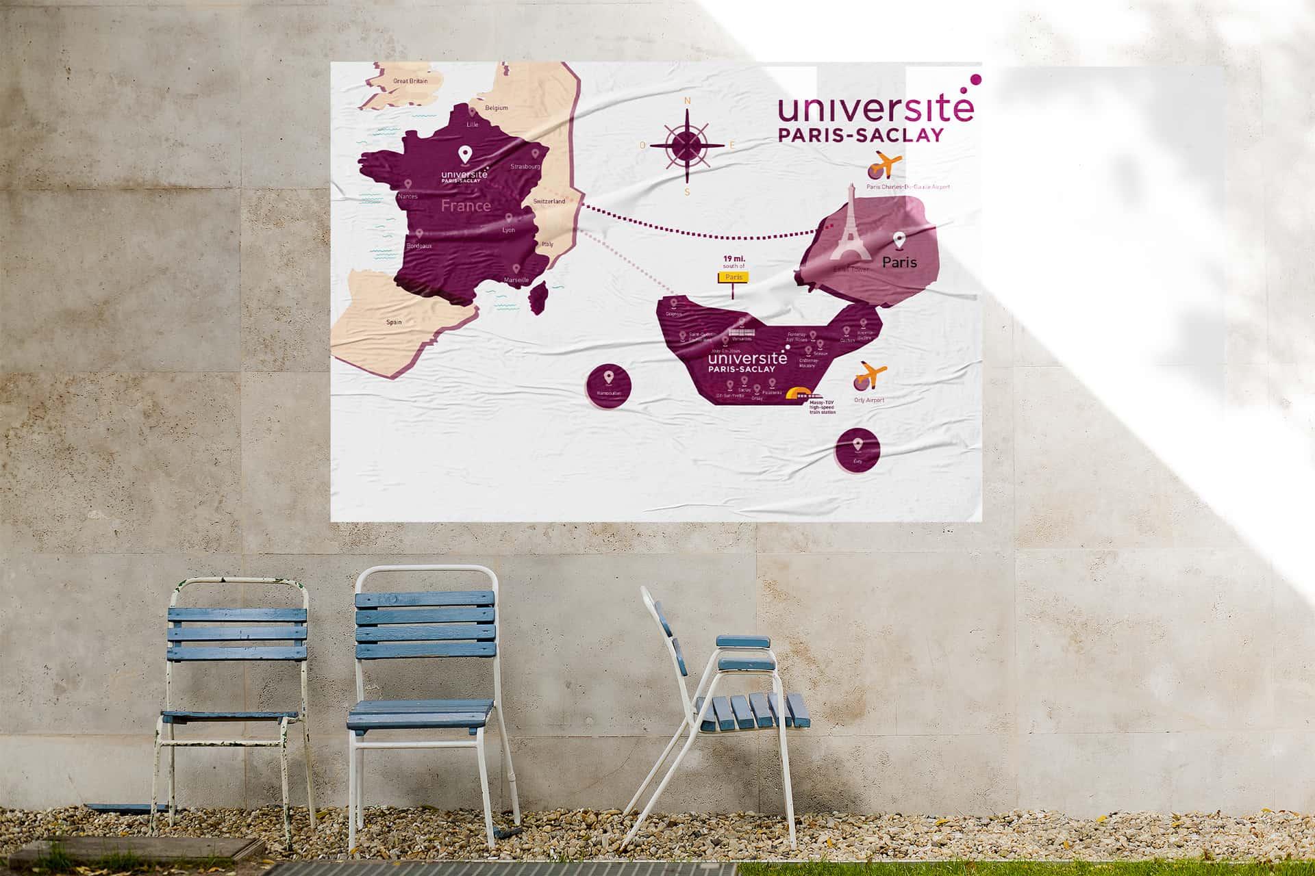 Université Paris-Saclay – Carte