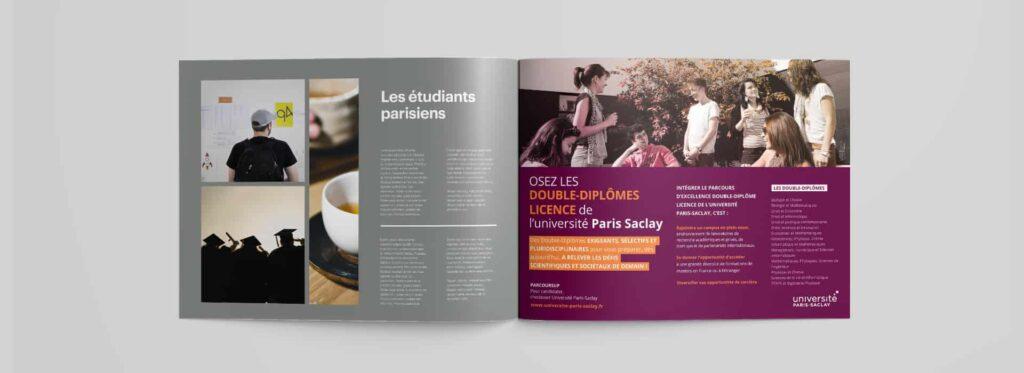 publicité magazine universite paris saclay