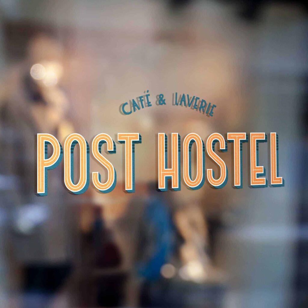 logo post hostel