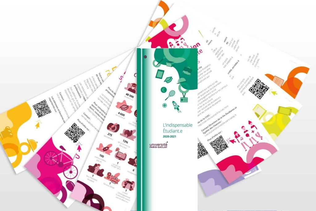 print design université paris saclay